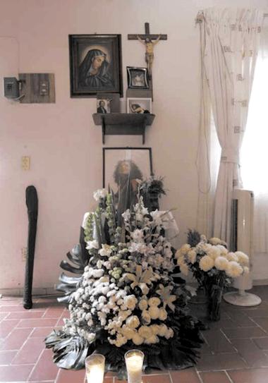 Altar a Imelda Virgen ©  Gandhi Rodríguez