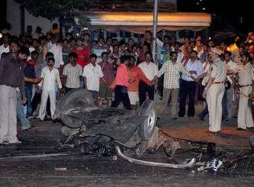 Explosión en Bombay
