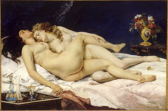 El sueño © Courbet