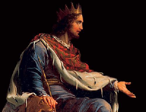 El rey Salomón.