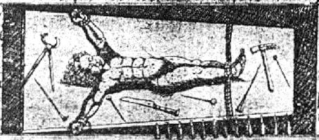 Otra representación del niño san Simón.