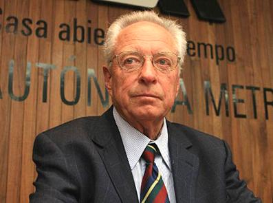 El doctor Leopoldo García-Colín Scherer.