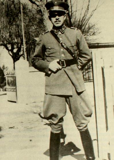 Los comienzos de Pinochet como oficial del ejército.