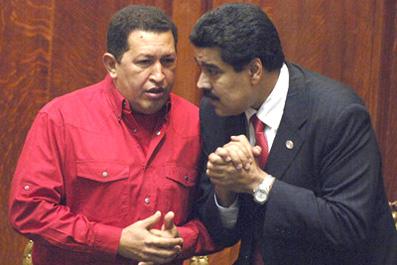 Chávez y su sucesor.