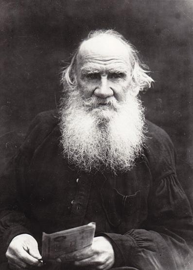 Lev Nikoláyevich Tolstói.