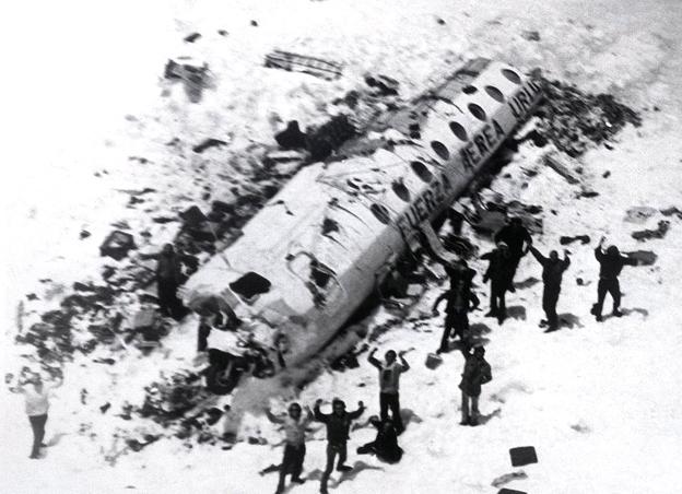 Los sobrevivientes de Los Andes.