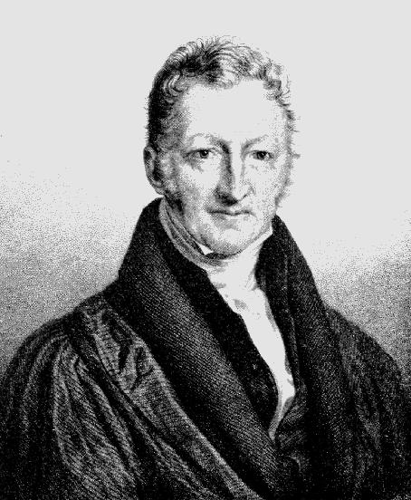 Thomas Robert Malthus.