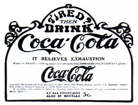 En 1903 la coca cola dejó de tener cocaína.