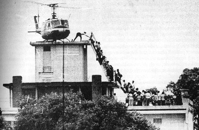 Saigón, la retirada.