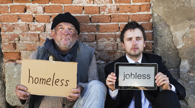 Desigualdad. Foto © Huffington Post.