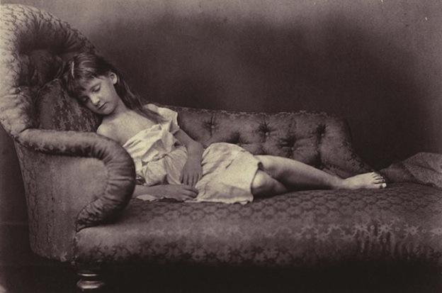 Alice Liddell, fotografía de Lewis Carroll, c. 1859.