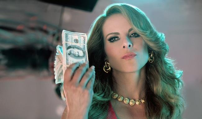 La actriz Kate del Castillo. Foto © Telemundo.