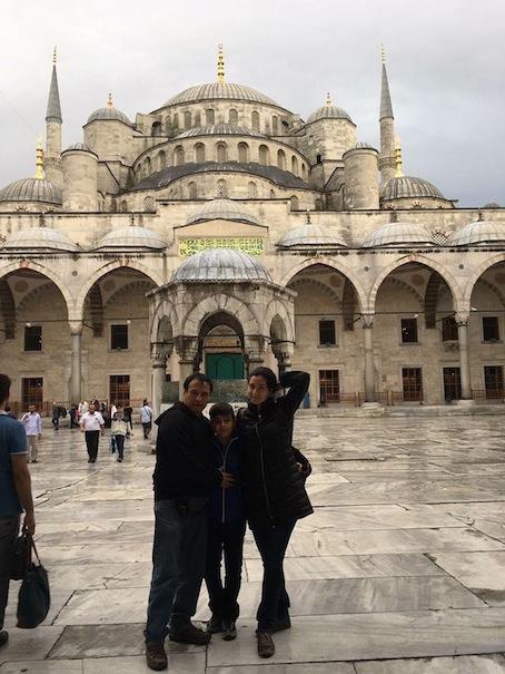 La Mezquita Azul.