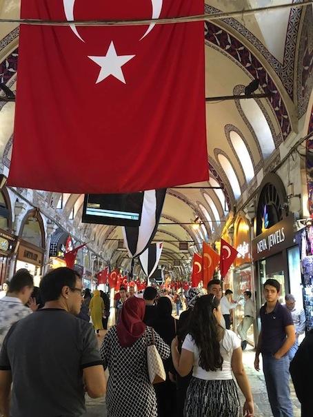 Caminar Estambul.