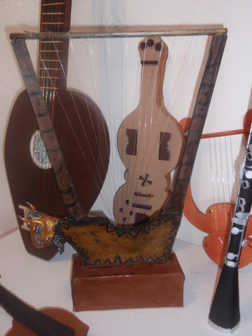 Exposición de instrumentos musicales del Renacimiento y del Barroco