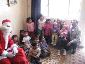 Servicio Social del alumnado del CEEE Reyes Católicos, coordinados por Álvaro Amaya