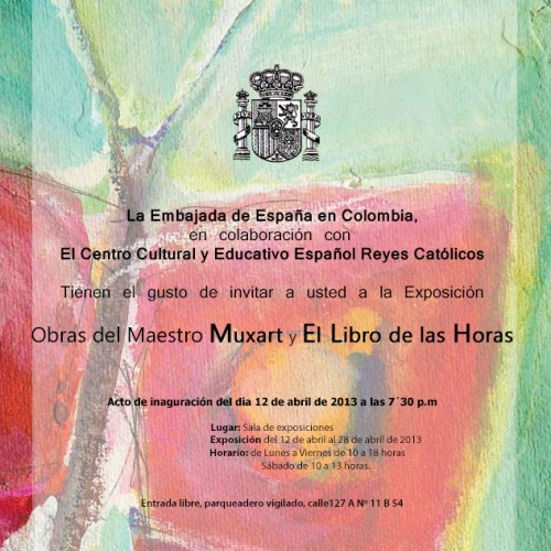 CCEE Reyes Católicos. Exposición