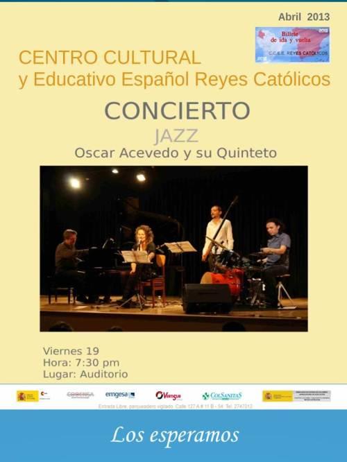 CCEE Reyes Católicos. Jazz