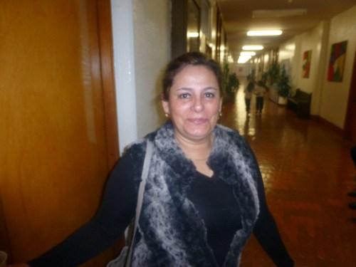 La ponente, María  del Rosario Leal