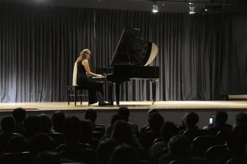 Un momento del concierto en el CCEE Reyes Católicos. Fotografía: Juan Francisco Zuleta Orjuela.