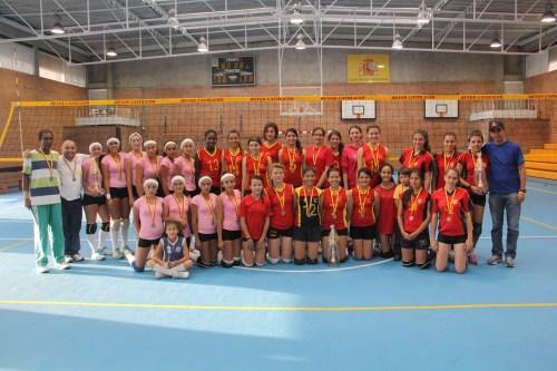 CCEE Reyes Católicos. Voleibol Premiación