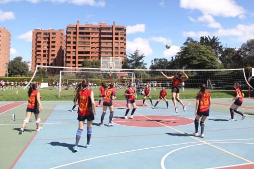 CCEE Reyes católicos. Voleibol