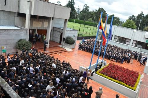Un momento del acto académico (Fotografía Juan Francisco Zuleta Orjuela).