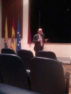 Bernabé Aguilar, Consejero Cultural de la Embajada de España