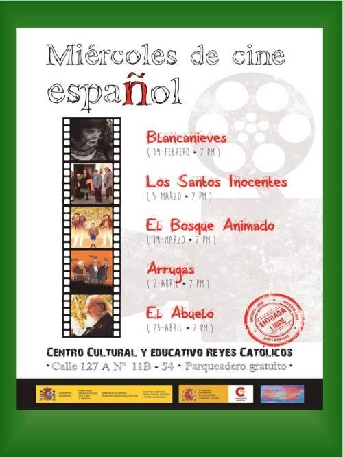 CCEE Reyes Católicos. Ciclo de cine