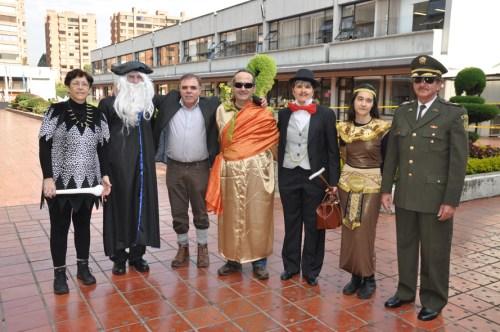 El Profesorado se unió al Carnaval 2014 (Fotografía Juan Francisco Zuleta Orjuela)
