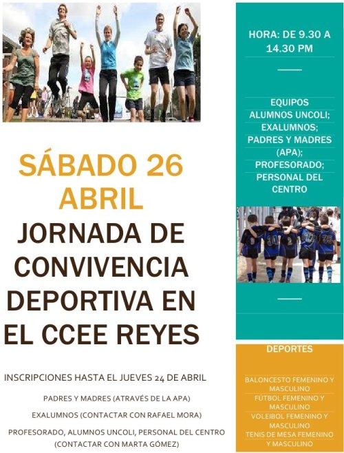 CCEE Reyes Católicos. Convivencia deportiva