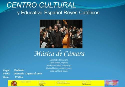 CCEE Reyes Católicos. Música de Cámara