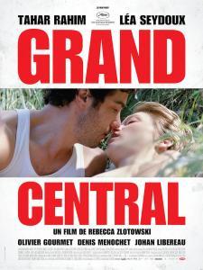 """Cartel de la película """"Grand Central"""""""