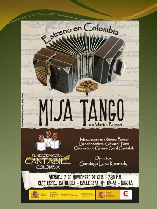 CCEE Reyes Católicos. Misa Tango