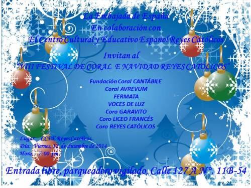 CCEE Reyes Catolicos. Concierto Navidad. Villancicos. 2014
