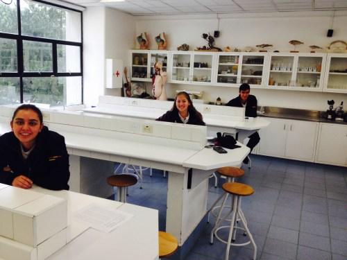 Angelica Casas, Lia Rodríguez y David Pinto, finalistas del CCEE Reyes Católicos para la Olimpiada Española de Biología