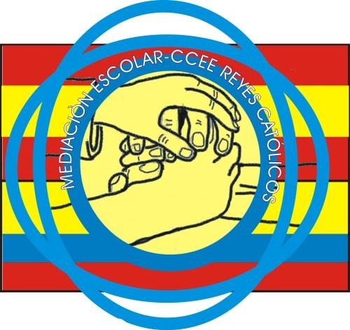 Logotipo del equipo de mediadores del CCEE Reyes Católicos