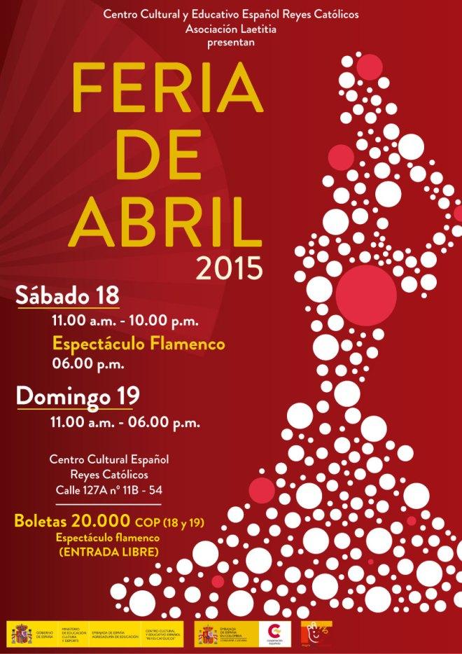 CCEE Reyes Catolicos. Feria de Abril