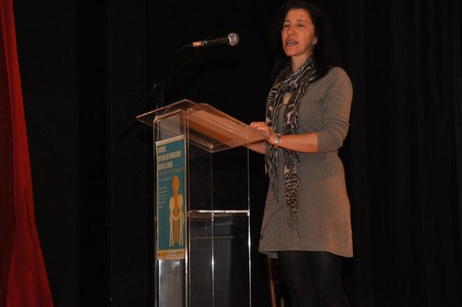 Susana Fernández Vázquez, Catedrática de Filosofía y Coordinadora de Mediación del IES Carlos Casares de Viana do Bolo (Galicia, España)