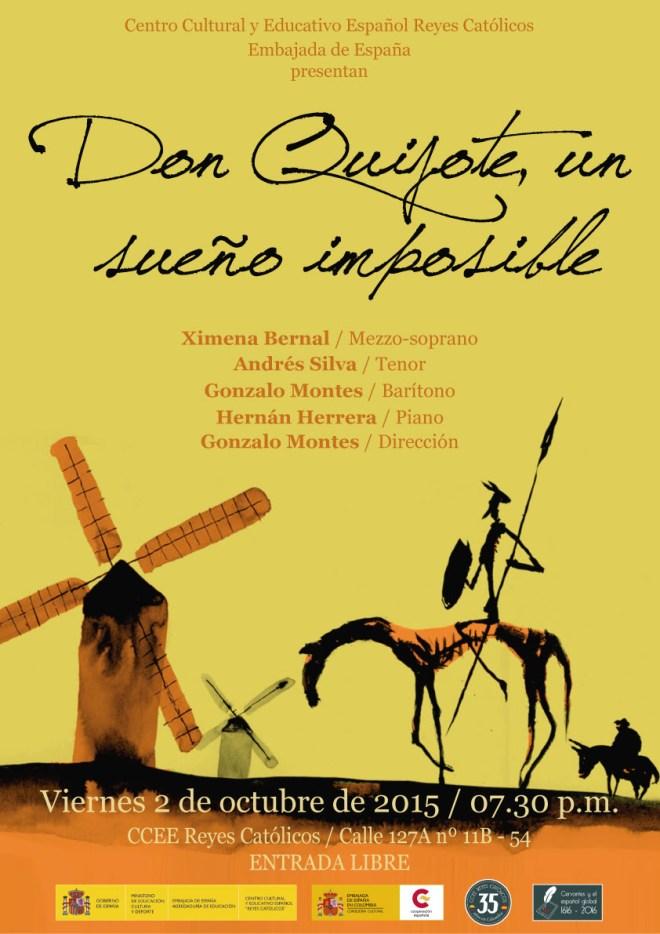 CCEE REyes Catolicos. Gonzalo Montes. El quijote
