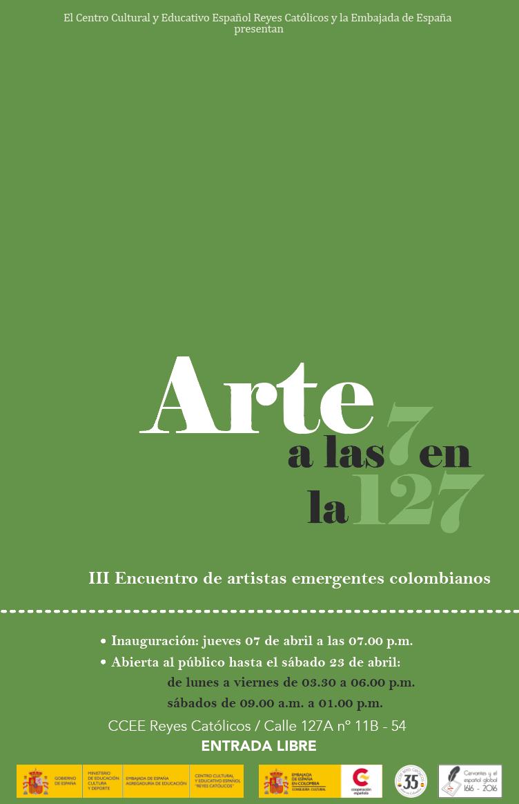 redes ARTE A LAS 7 EN LA 127