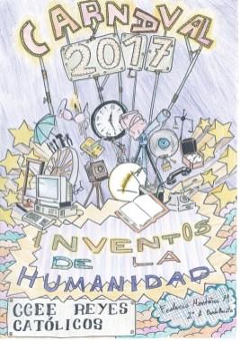 Cartel realizado por Federico Montañéz Mallarino de 2º A de Bachillerato.