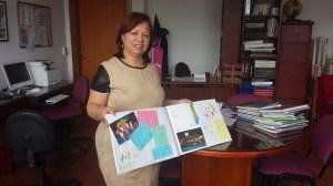 La profesora Rita Albañil