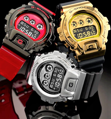 G-Shock GM6900 todos