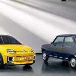 Renault rinde tributo al famoso R5