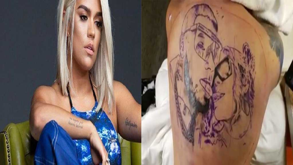 Karol G Responde A Las Críticas Sobre El Tatuaje En La Espalda De