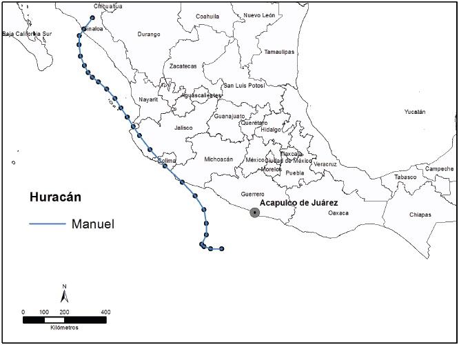 Los desastres recurrentes en México: El huracán Pauline y