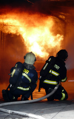 Trajes contra incendios