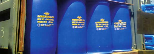Ácido clorhídrico líquido