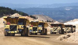Comunicación vía satélite y gestión de maquinaria minera